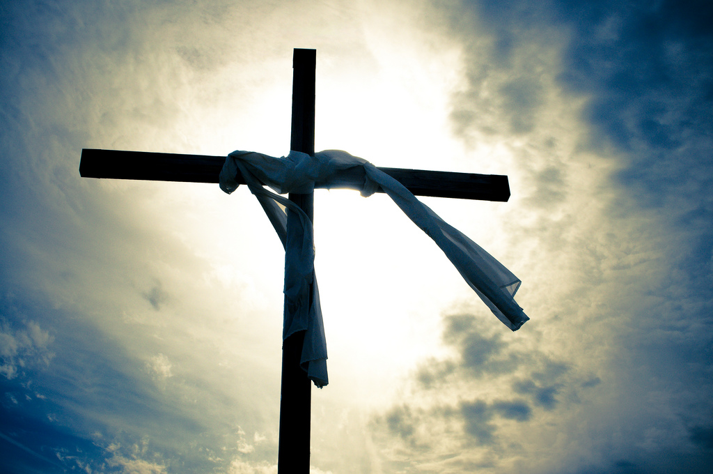 easter sunday empty cross christs victory over death